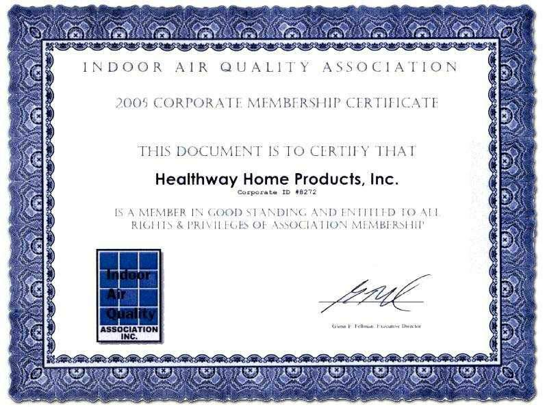 The Indoor Air Quality Association