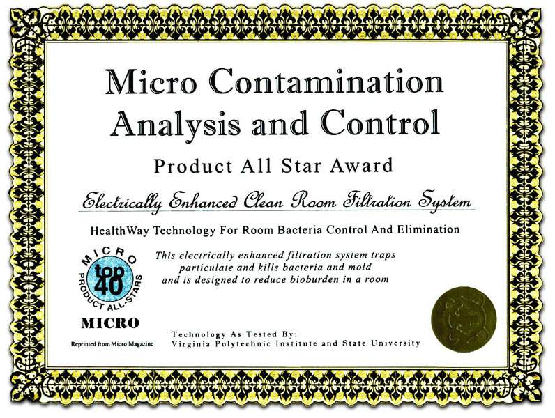 micro-contamination analysis and control